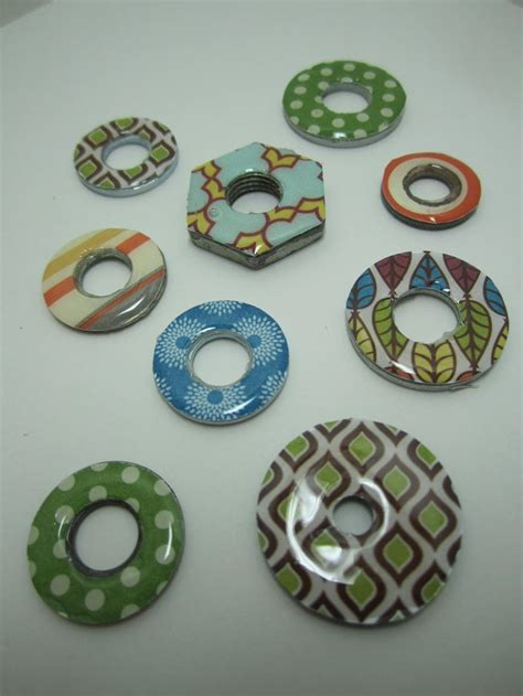 pattern weights washers goin over the edge visiting the parts bin to make this