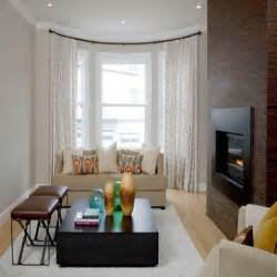Bow Window Ideas Custom Curtain Designs Living Room Bay Window Curtain