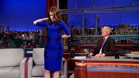 tina fey letterman tina fey strips lastdressever for david letterman