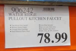 Waterridge Kitchen Faucet deal for the waterridge pull out kitchen faucet at costco