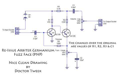 germanium transistor fuzz germanium transistor fuzz schematic 28 images arbiter germanium fuzz re issue kit doctor