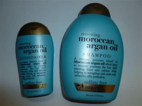 Shoo Argan organix moroccan shoo and conditioner organix