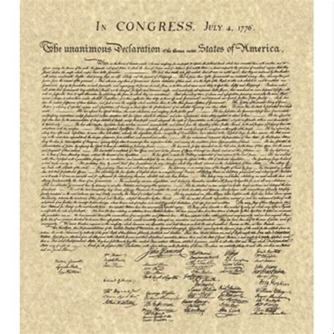 printable version of declaration of independence declaration of independence text printable version www