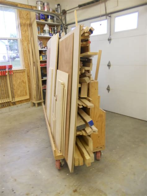 for the workshop material storage on pinterest lumber storage 17 best images about workshop wood storage cart on