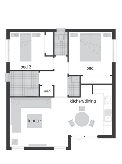 flat floor plan granny flat house plans mibhouse com