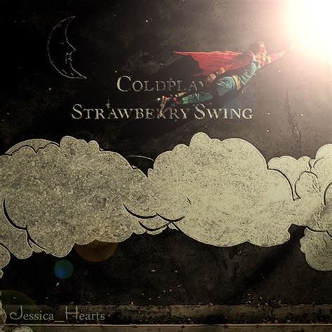coldplay strawberry swings strawberry swing coldplay fan art 7118394 fanpop