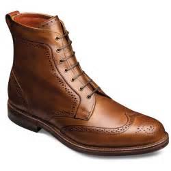 Allen Edmonds Dalton Wingtip Lace Up Oxford S Dress Boots By Allen