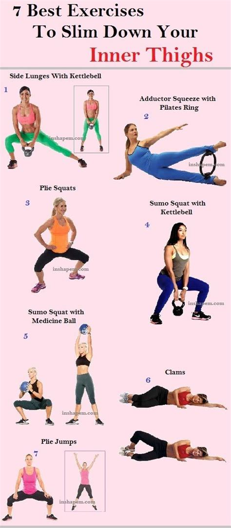 effective hip flexor stretch 7 best exercises to slim your inner thighs thighs