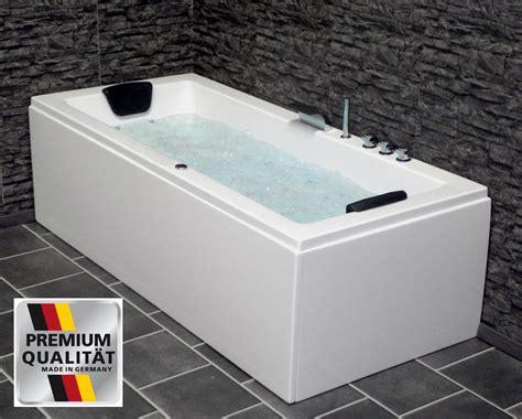 badewanne 175x75 whirlpool badewanne eckwanne g 252 nstig mit 8 d 252 sen