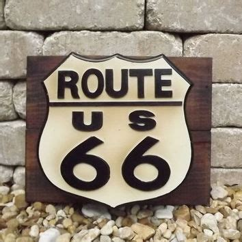 Route 66 Wall Decor by Route 66 Key Cabinet Primitive Wood Wall From Gussiesattic On