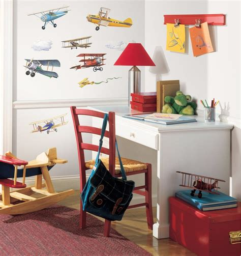 roommates rmk1197scs vintage planes peel and stick wall