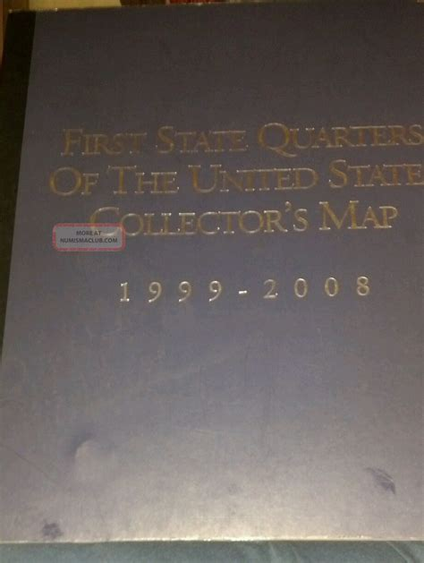 state quarters of the united states collectors map value state quarters if the united states collectors map