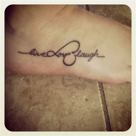live laugh love tattoo live laugh infinity tattoos