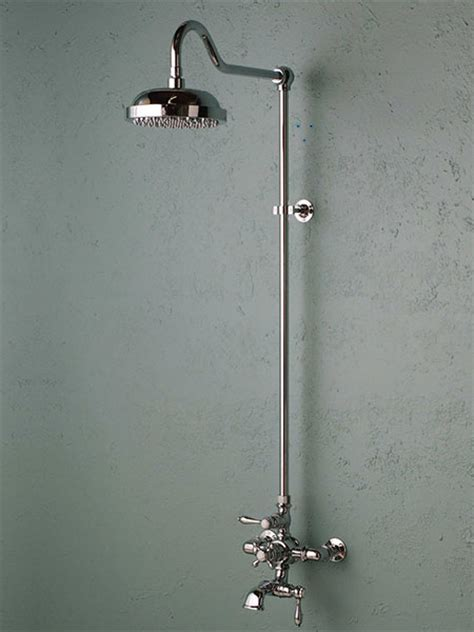 Fashioned Shower by European Style Exposed Showers