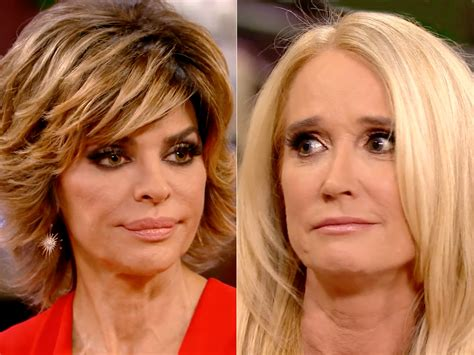 lisa rinna freaked out on kim richards because of harry rhobh did harry hamlin confront kyle richards about kim
