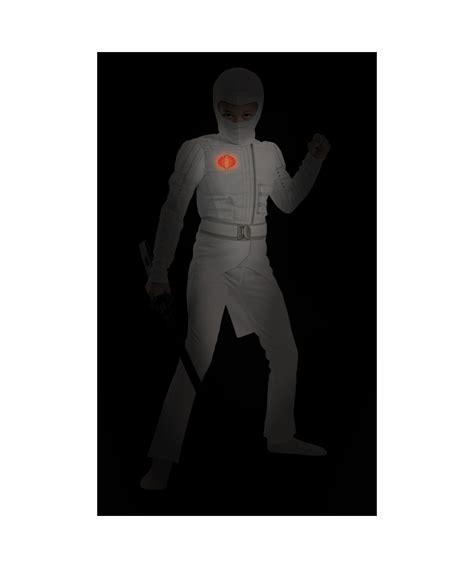 gi joe storm shadow costume hoodie superherostuffcom gi joe retaliation storm shadow light up muscle kids costume