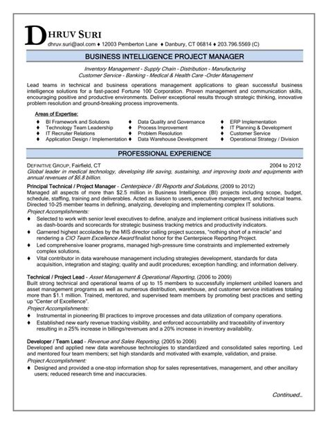 Project Manager Resume Sample 2016 Ready for You   Resume