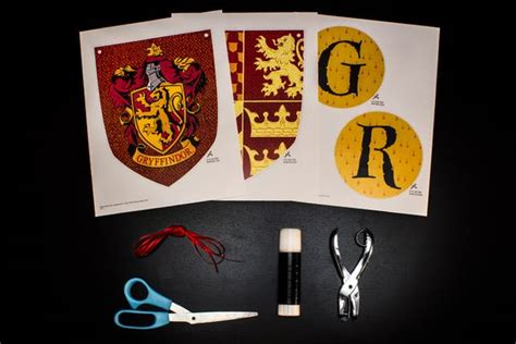 printable hogwarts house banners diy house banners hogwarts printable banner and house