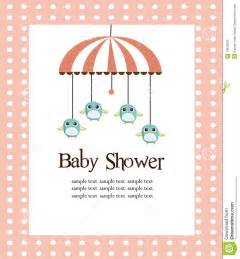 What To Say On Baby Shower Card by Baby Shower Card For Royalty Free Stock Image