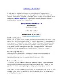 Security Guard Career Objective Sample Resume For Casino Security Officer Archives