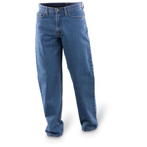 haggar comfort waist haggar 174 flexible waist comfort jeans 32 quot inseam 124076