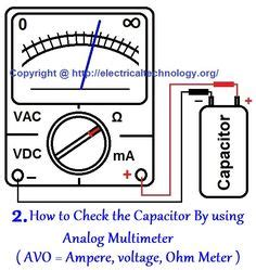 how to test a capacitor on a garage door opener underground residential electric service electrical info pics non stop engineering