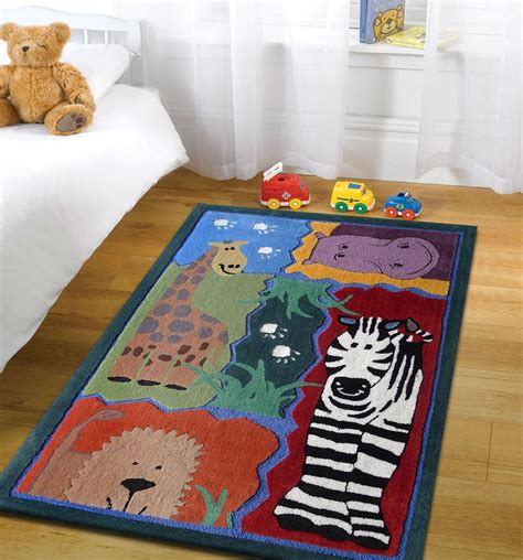 Area Rugs For Boys Rooms 4 X 6 Ft Boy S Bedroom Area Rug With Zoo Animals Rug Addiction