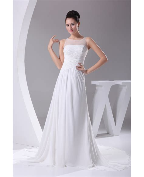 bridesmaid dresses with beaded tops simple beaded top pleated chiffon wedding dress