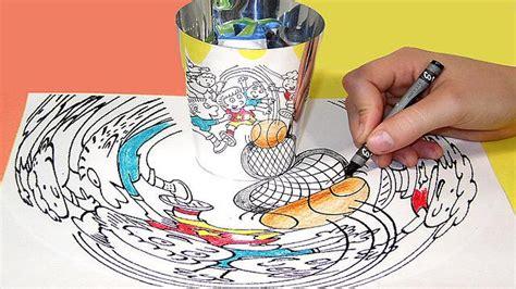 printable anamorphic art the art of anamorphic illusions