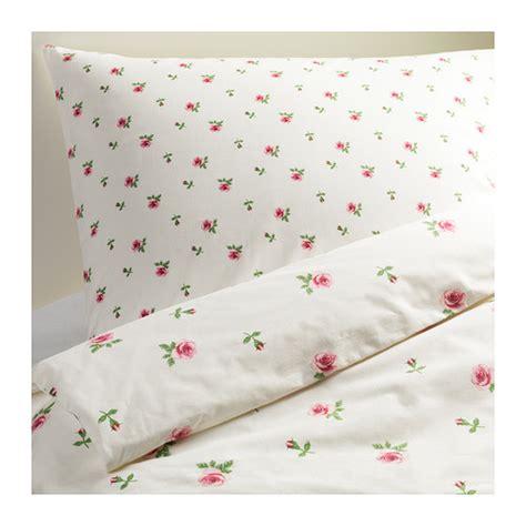 Ikea Cotton Duvet Covers Ikea Rosen Bettw 228 Sche Emelina 2 Teilig 140x200 Neu Ovp