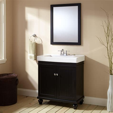 bathrooms with black vanities 30 quot lander vanity black bathroom