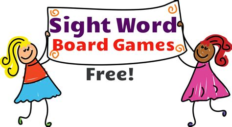 printable board games sight words sight word board games free sight word activities