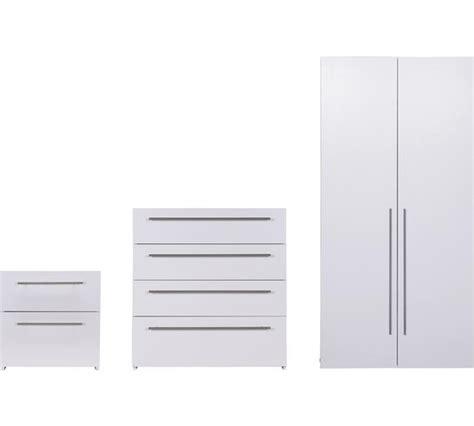 white gloss bedroom furniture argos buy hygena atlas 3 piece 2 door wardrobe package white