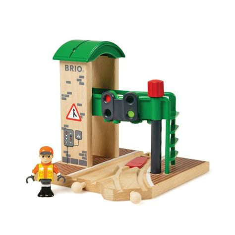 brio train games brio signal station toys thehut com