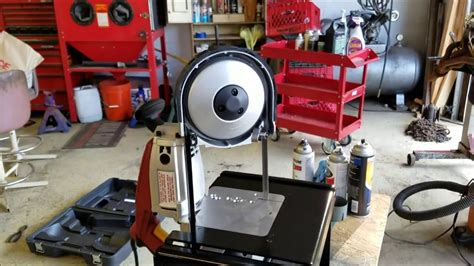 Harbor Freight Portable Bandsaw Stand by Harbor Freight Band Saw And Swag Offroad Stand Youtube