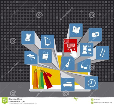 design online work shopping online royalty free stock photo image 30765215