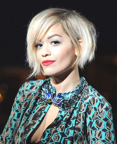 a symetrical haircuts 20 short hairstyles for girls with or without curls 1