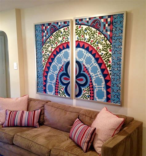 Living Room Colors by Acrylic Jeffrey J Mattia Studio