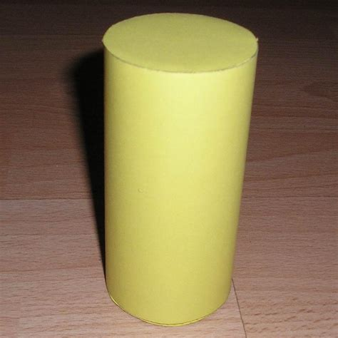 How To Make Cylinder With Paper - paper cylinder