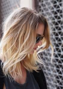 thin hair with ombre pretty ombre hairstyle for fine hair medium length