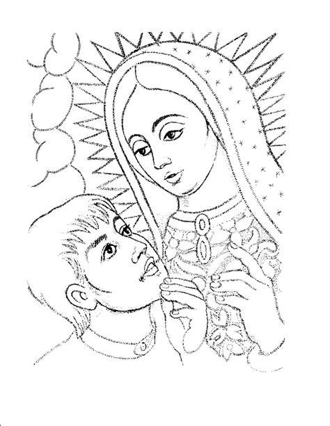 virgen maria para colorear para nios apexwallpapers com dibujos para colorear de la virgen de guadalupe