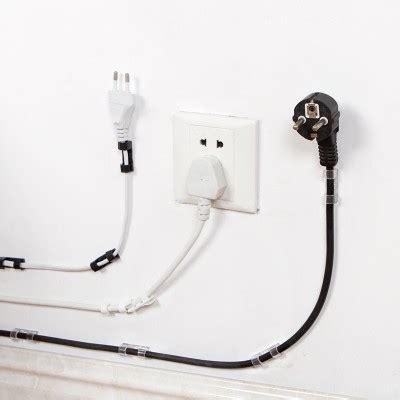 Kabel Klip Cable Clip klip kabel organizer cable clip 20pcs black