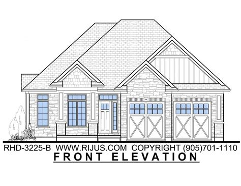 Home Plans Ontario | rijus home design ltd ontario house plans custom home