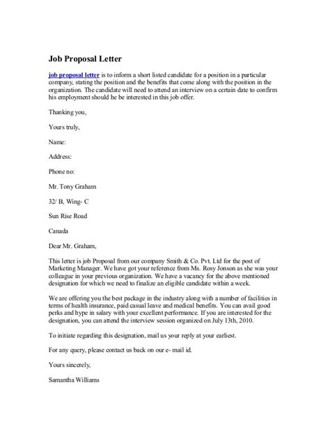 writing a for a new position template letter