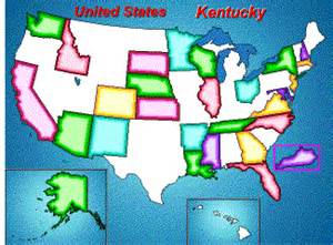 United States Puzzle Map by Map Puzzle