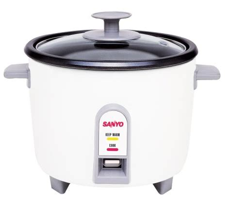 Rice Cooker Sanyo cheap sanyo ec 503 3 cup uncooked rice cooker and
