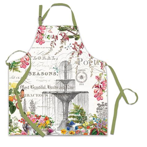 amazon com michel design works peony blossom home fragrance room in the garden apron