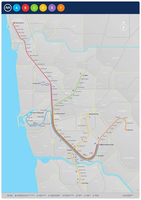 metro porto portogallo como usar o metro do porto como funciona o andante