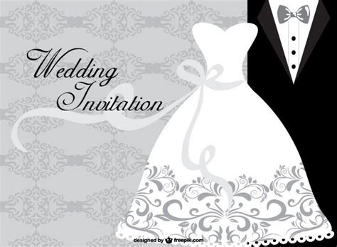 Wedding Card Designs Free by Wedding Dress Card Design Template 123freevectors