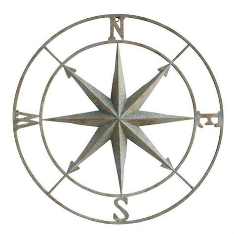 Compass Wall Plaque   Aqua / 28 DA6886